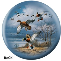OnTheBallBowling Nature Mallards Back Image