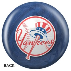 OnTheBallBowling New York Yankees Stadium Back Image