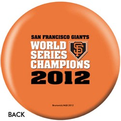 OnTheBallBowling MLB San Francisco Giants World Series 2012 Org Back Image