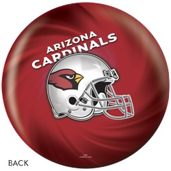 KR Arizona Cardinals NFL Ball Back Image