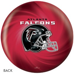 KR Strikeforce Atlanta Falcons NFL Ball Back Image