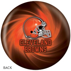 KR Cleveland Browns NFL Ball Back Image