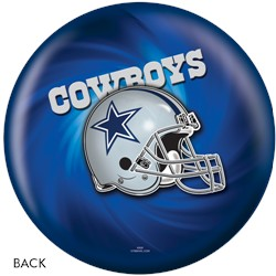 KR Strikeforce Dallas Cowboys NFL Ball Back Image