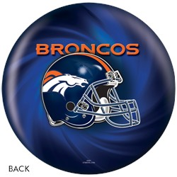 KR Strikeforce Denver Broncos NFL Ball Back Image