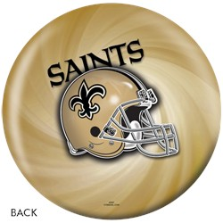 KR New Orleans Saints NFL Ball Back Image