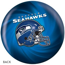 KR Strikeforce Seattle Seahawks NFL Ball Back Image