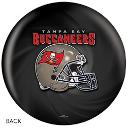 KR Strikeforce Tampa Bay Buccaneers NFL Ball Back Image
