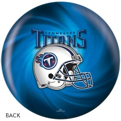 KR Tennessee Titans NFL Ball Back Image