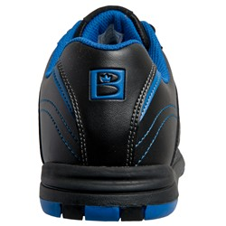 Brunswick Mens Flyer Black/Mag Blue Back Image