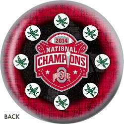 KR Ohio State Buckeyes 2014 NCAA Football Champs Back Image