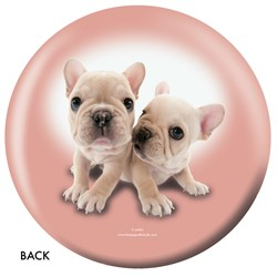 OnTheBallBowling French Bulldog Back Image