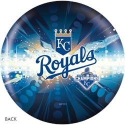OnTheBallBowling 2015 World Series Champion Kansas City Royals Back Image