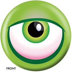 OnTheBallBowling Monster Eyeball-Green Back Image