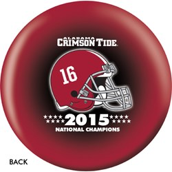 OnTheBallBowling Alabama 2015 National Champions Back Image
