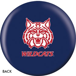 OnTheBallBowling Arizona Wildcats Back Image