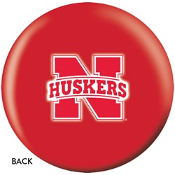 OnTheBallBowling University of Nebraska Huskers Back Image