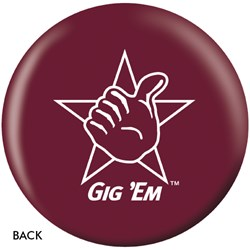 OnTheBallBowling Texas A&M Aggies Back Image
