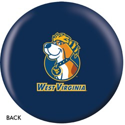 OnTheBallBowling West Virginia Mountaineers Back Image