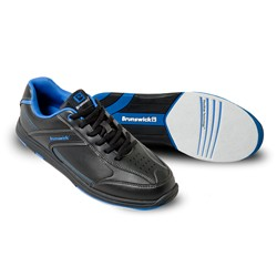 Brunswick Mens Flyer Black/Mag Blue Core Image