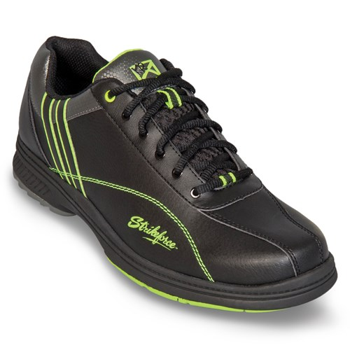 KR Strikeforce Mens Raptor Black/Lime Right Hand Wide Width Main Image