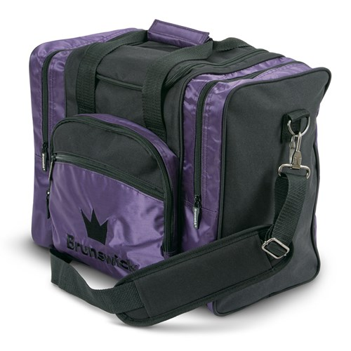 Brunswick Edge Single Tote Purple Main Image