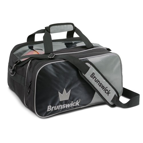Brunswick Crown Double Tote Silver With Pouch Main Image