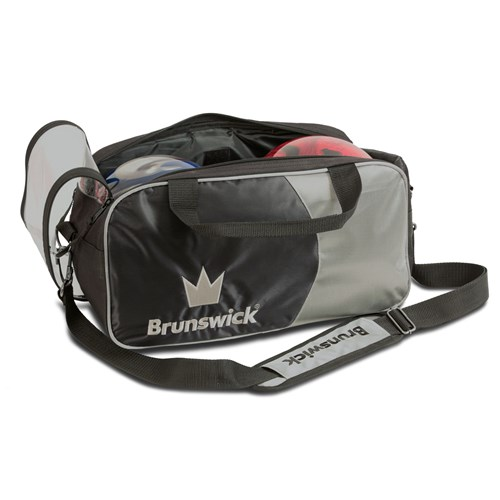 Brunswick Crown Double Tote Silver Main Image