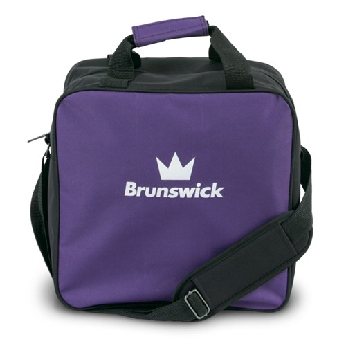 Brunswick TZone Single Tote Purple Main Image