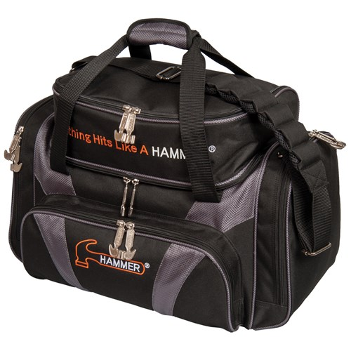 Hammer Premium Deluxe Double Tote Black/Carbon Main Image