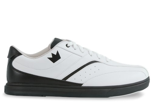 Brunswick Mens Vapor White/Black Main Image