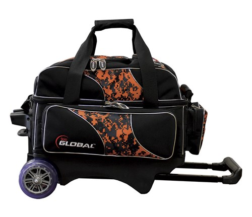 900Global Deluxe 2 Ball Roller Orange Camo Main Image