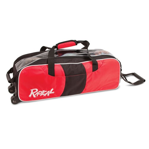 Radical Triple Tote/Roller Red/Black Main Image