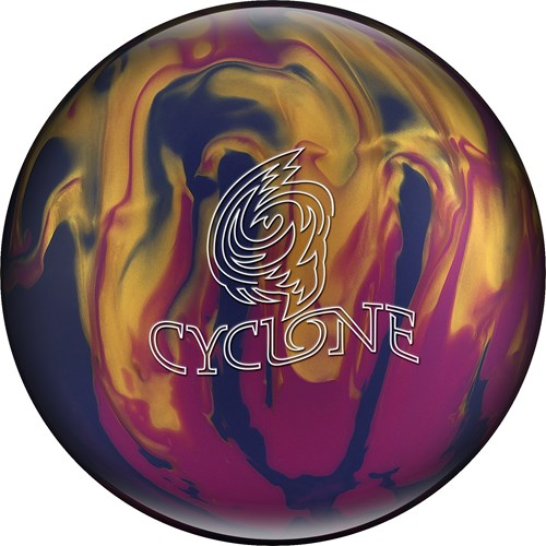 Ebonite Cyclone Violet/Gold/Blue X-OUT Main Image