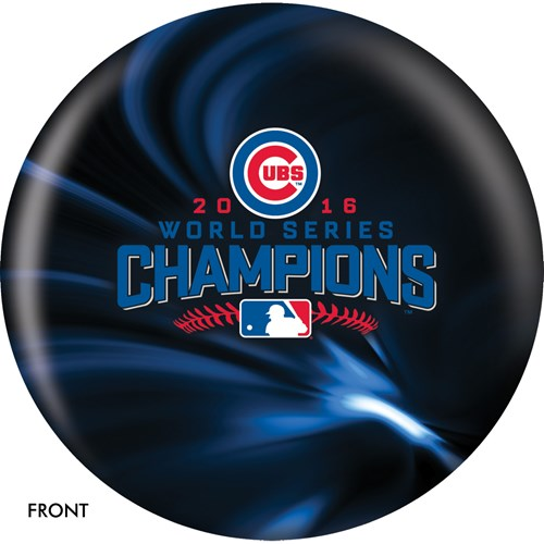 OnTheBallBowling MLB Chicago Cubs World Series Champions 2016 Main Image