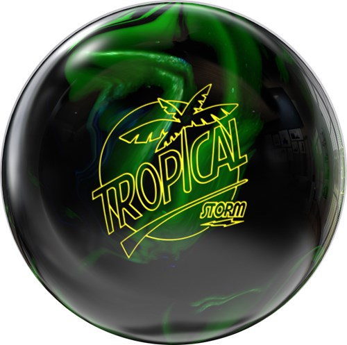 Storm Tropical Black/Lime Main Image