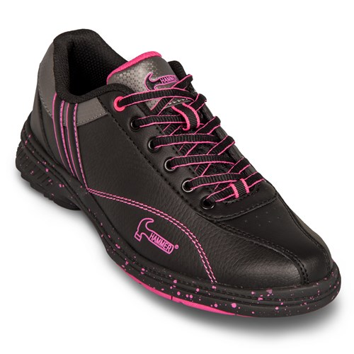 Hammer Womens Vixen Black/Magenta Right Hand Bowling Shoes ...