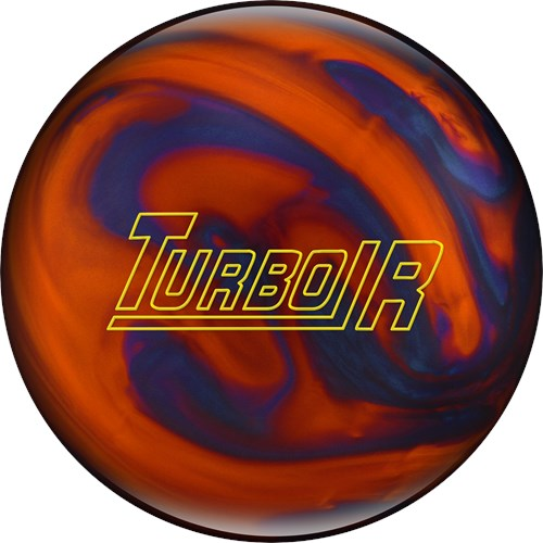 Ebonite Turbo/R Orange/Blue Pearls Main Image