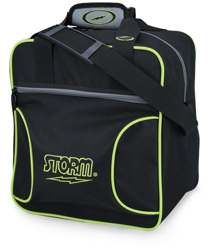 Storm Solo Single Tote Black/Grey/Lime Main Image