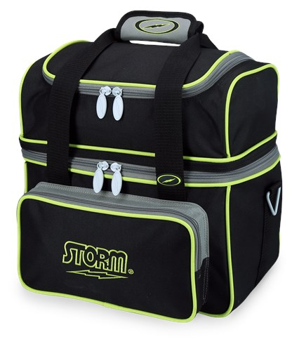 Storm 1 Ball Flip Tote Black/Grey/Lime Main Image