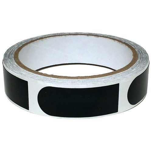 Powerhouse Premium 3/4'' Black Tape 100 Roll Main Image