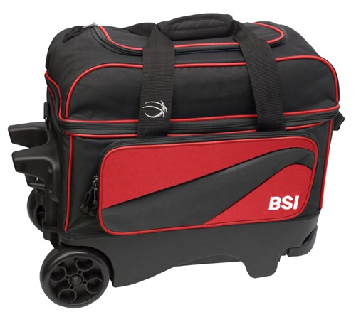 BSI Large Wheel Double Ball Roller Red/Black Main Image