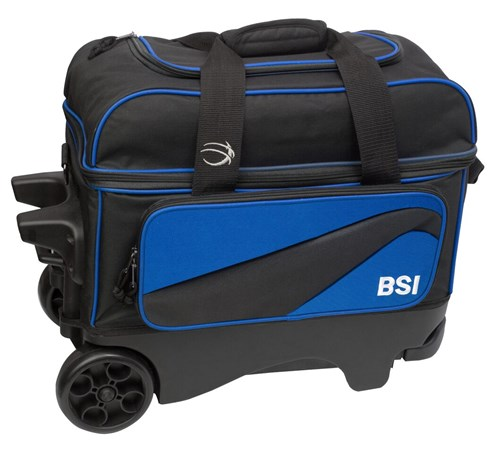 BSI Large Wheel Double Ball Roller Blue/Black Main Image