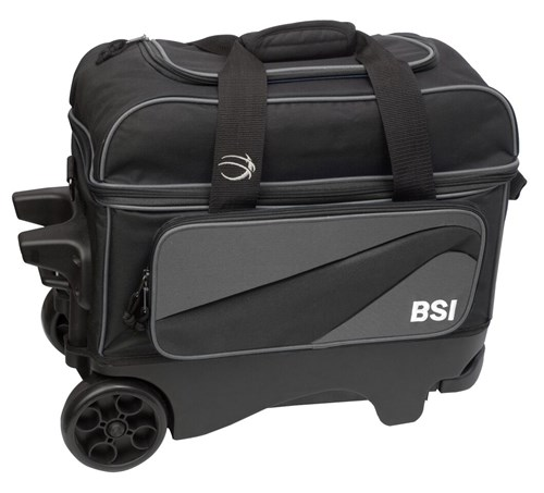 BSI Large Wheel Double Ball Roller Grey/Black Main Image