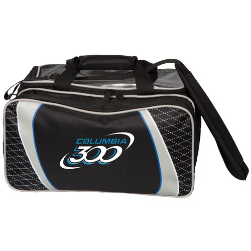 Columbia 300 Team C300 Double Tote Black/Silver Main Image