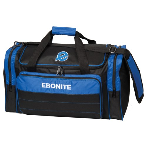 Ebonite Conquest Double Tote Black/Blue Main Image
