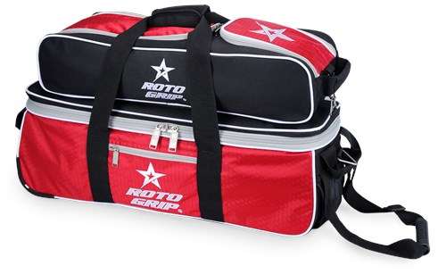 Roto Grip 3 Ball Tote/Roller Red/Black R3202 Main Image