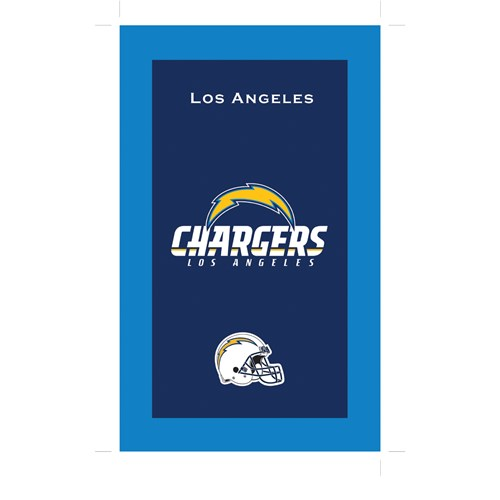 KR NFL Towel Los Angeles Chargers Main Image