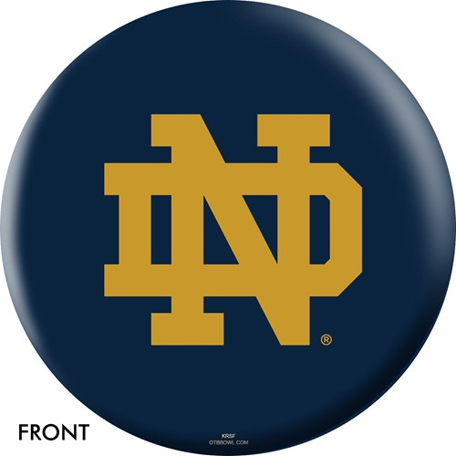 OnTheBallBowling Notre Dame Fighting Irish Main Image
