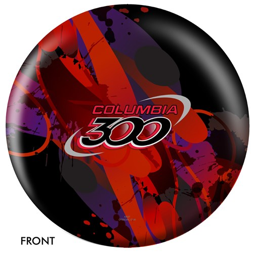 OnTheBallBowling Logo Ball - Columbia 300 Main Image