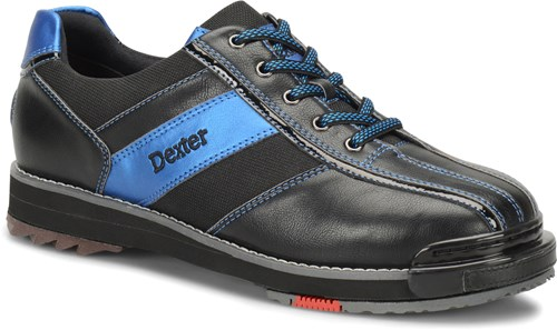 255ce06d7 Dexter Mens SST 8 Pro Black Blue Right Hand or Left Hand Bowling Shoes